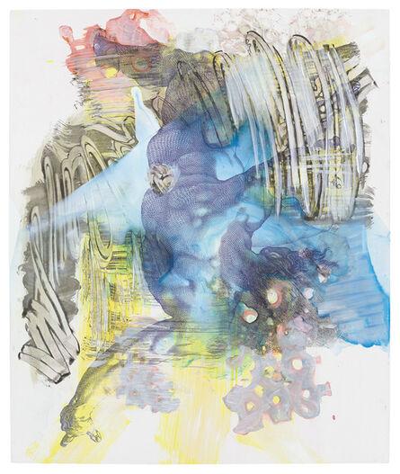 Pia Fries, 'corpus transludi A1', 2017