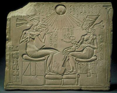 'Akhenaten, Nefertiti, and the Royal Princesses', 1348-1335 B.C.