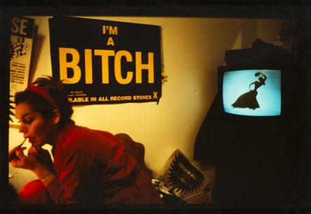 Nan Goldin, 'Chiclet doing her makeup NYC', 1991