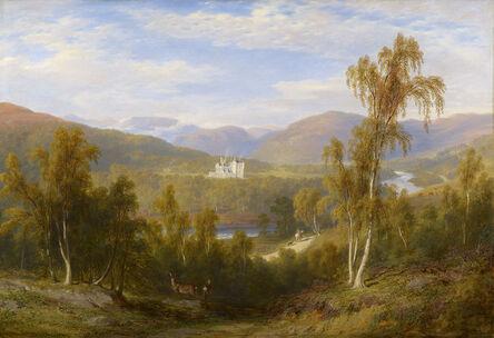 James Giles, 'A View of Balmoral ', 1848