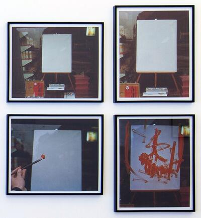 Goran Trbuljak, 'Sunday painting', 1974