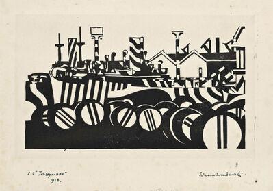 Edward Wadsworth, 'S.S. Jerseymoor ', 1918