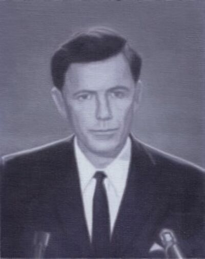 Miguel Aguirre, 'John F. Kennedy', 2014