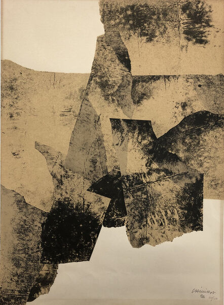 Eduardo Chillida, 'Untitled', 1961