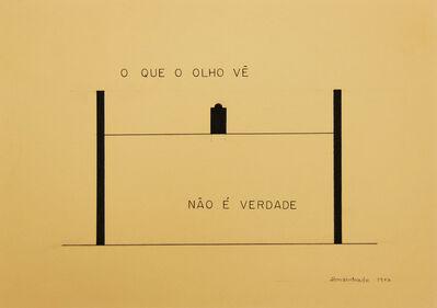 Almandrade, 'Untitled - Visual Poem', 1977