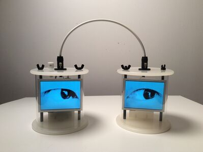 Alan Rath, 'Electric Eyes II', 2015