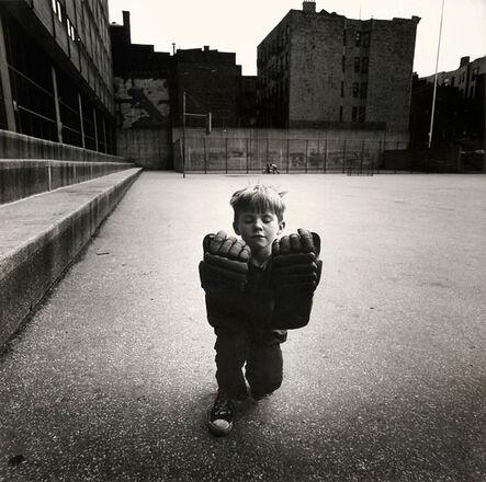 Arthur Tress, 'Boy with Hockey Gloves', 1968/1968c