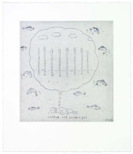 Atsushi Kaga, 'Salmon and asparagus', 2014