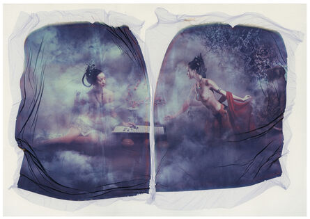 Xulong Zhang, 'Untitled - Contemporary, Figurative, Women, Polaroid, Photograph, Landscape, Nude', 2002