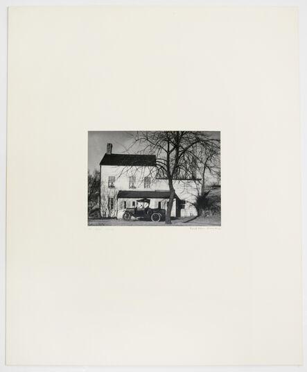 Walker Evans, 'XIII (Farmhouse, Westchester County, New York, 1931', 1971