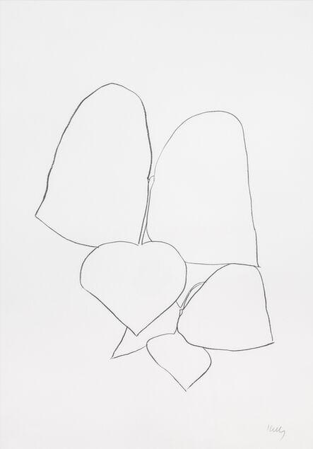 Ellsworth Kelly, 'String Bean Leaves II', 1965-1966