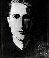 Man Ray, 'Ritratto di Marcel Duchamp', 1923