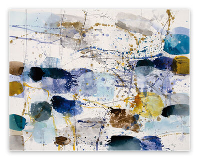 Greet Helsen, 'Morning Light (Abstract Expressionism painting)', 2020