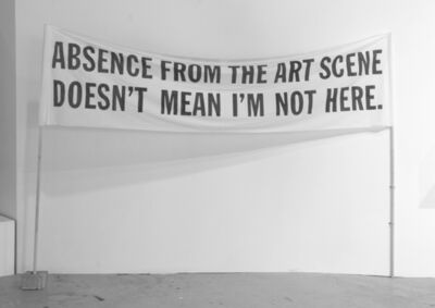 Mihai Iepure - Gorski, 'Absence From the Art Scene Doesn't Mean I'm Not Here ', 2009