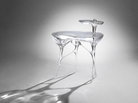 Mattia Bonetti, 'Side Table 'Bubblegum' Acrylic', 2014