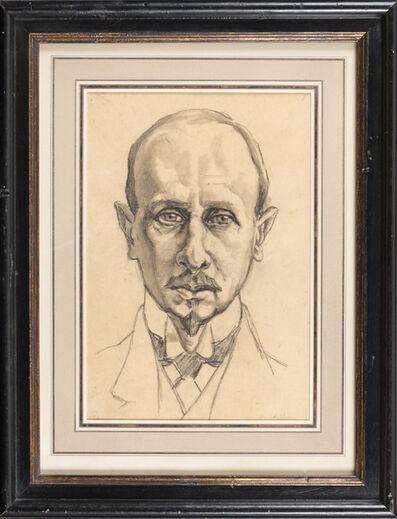 Ferdinand Hodler, 'Portrait d'homme'