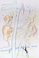 Salvador Dalí, 'Le Singe et le Léopard', 1975