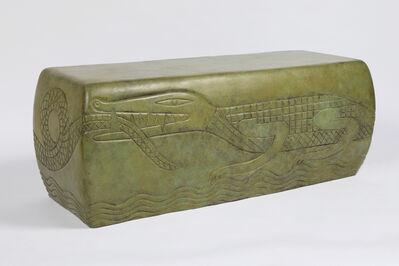 Judy Kensley McKie, 'Crocodile Bench', 2018