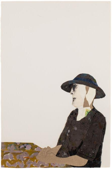 Benny Andrews, 'Sorrow', 1990