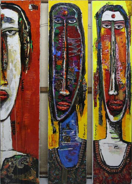 P Gnana, 'Kiss of Life Series - a', 2016