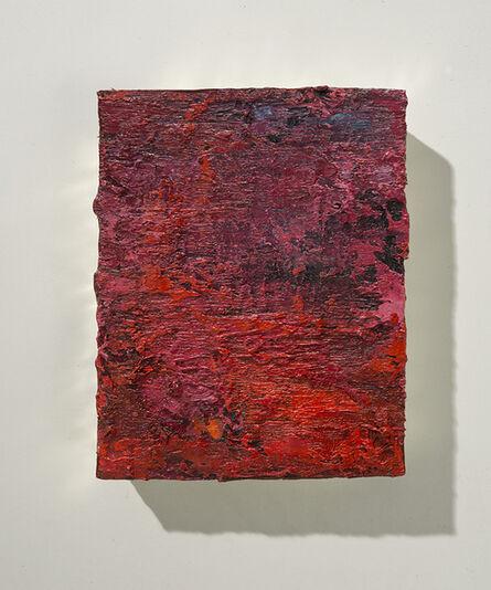 Lawrence Fodor, 'Koan Box Alizarin/Cadimium Red/Orange', 2014