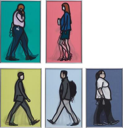 Julian Opie, 'Walking in London 1', 2014