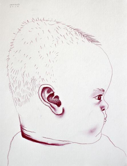 Eduardo Sarmiento, 'Luciano Staring at his Mom', 2015
