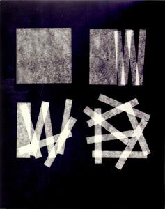 Jan Kubíček, 'die form - die aktion V', 1985