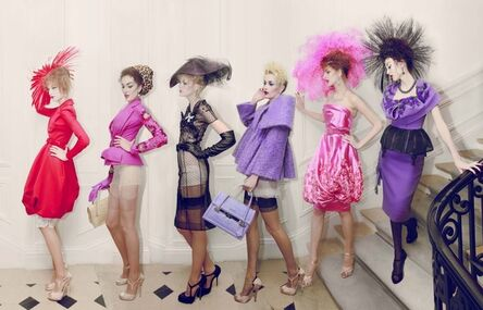 Simon Procter, 'Dior 6 Girls, Haute Couture Winter', 2009