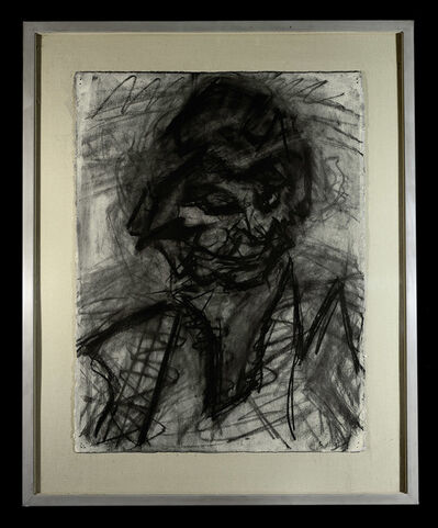 Frank Auerbach, 'Head of JYM III', 1980