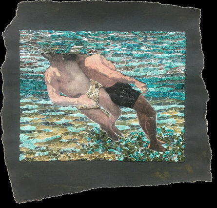 Matthew Lazure, 'Fig. 88. Cross chest carry. Underwater view.', year unknown