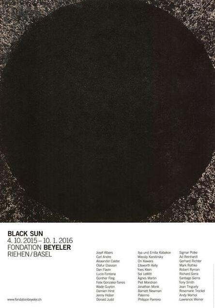 Richard Serra, 'Black Sun', 2015