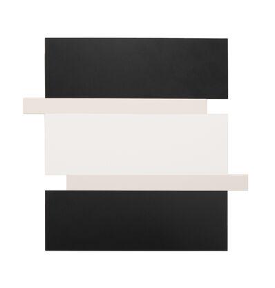 Scot Heywood, 'Stack – Black, Canvas, White', 2016