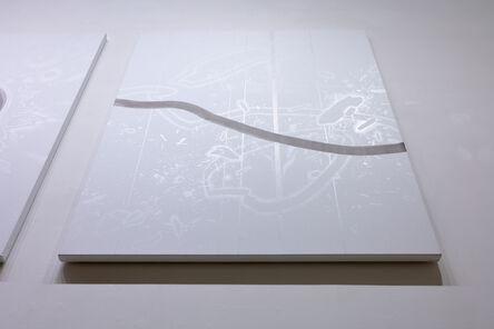 Yamaguchi Akira, 'Oil on Canvas, Open Sea Wave', 2016
