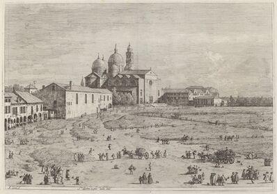 Canaletto, 'S. Giustina in pra della Vale', ca. 1735/1746