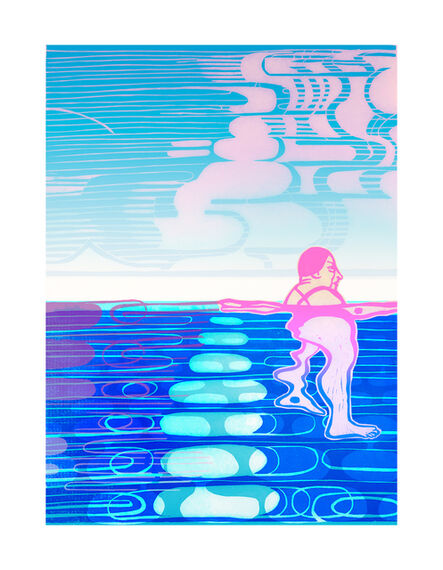 Libby Hague, 'AQUAFIT, Arctic Grace', 2020