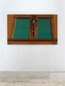 Hendrik Krawen, 'Closed (smoked stucco)', 2015-2017