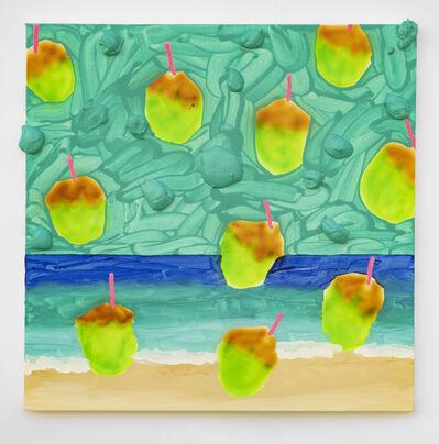 Radamés 'Juni' Figueroa, 'Coconut Rain on the Beach #1', 2020