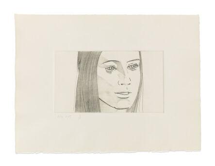 Alex Katz, 'June Ekman's Class: Mary', 1972