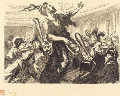 Etienne after Honoré Daumier, 'La Mi-Careme - Au bal de l'Opera', 1868