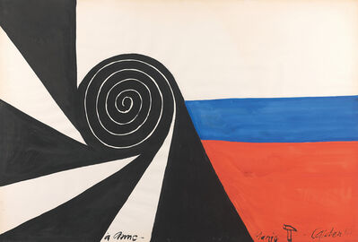 Alexander Calder, 'Spirale', 1969