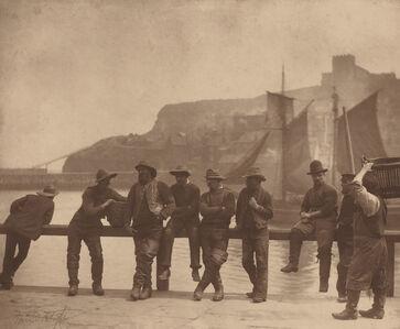 Frank Meadow Sutcliffe, 'Whitby Fishermen', ca. 1885