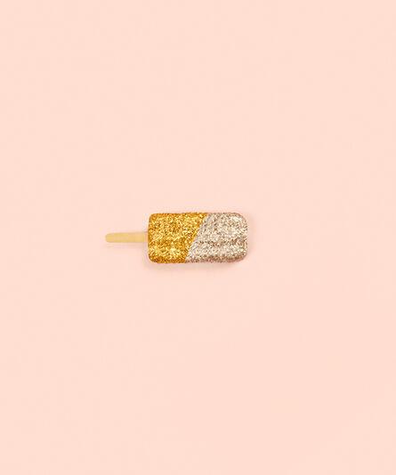 Kimberly Genevieve, 'Glitter Ice Cream Gold', 2017