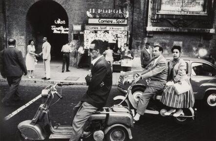 William Klein, 'Red Light, Rome', 1960