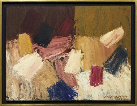 Nina Tryggvadottir, 'Abstraction (NT-OL-62-02)', 1962