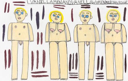 Antonio Benjamin, 'Vanilla Men and Vanilla Women MilkShack Color', 2017