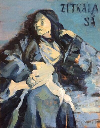 Maryanne Buschini, 'Zitkála-Šá', 2020