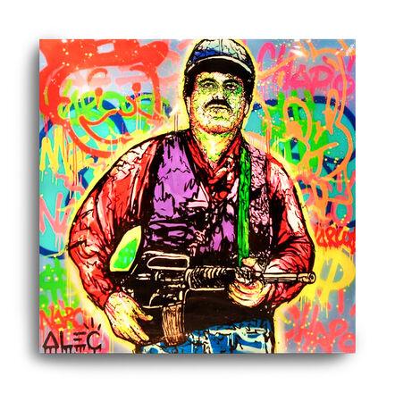 Alec Monopoly, 'ICONS: El Chapo', 2016