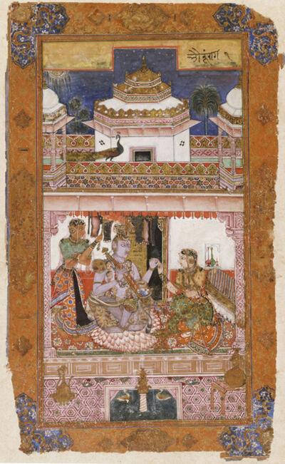 "'""Bhairava Raga,"" from the Chunar Ragamala', 1591"