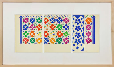 Henri Matisse, 'Decoration- Fruits', 1958